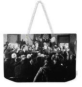 Silent Still: Group Of Men Weekender Tote Bag