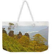 3 Sisters Blue Mountains Weekender Tote Bag