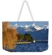 Snow-capped Mountain Weekender Tote Bag