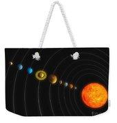 Solar System Weekender Tote Bag