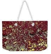 Stoneface At Hossa With Stone Age Paintings Weekender Tote Bag