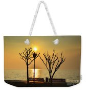 Sunlight Over A Lake Weekender Tote Bag