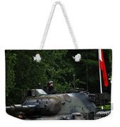 Tank Commander Of A Leopard 1a5 Mbt Weekender Tote Bag by Luc De Jaeger
