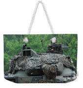 The Leopard 1a5 Main Battle Tank Weekender Tote Bag