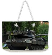 The Leopard 1a5 Mbt Of The Belgian Army Weekender Tote Bag by Luc De Jaeger