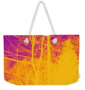 Thermogram Of Electrical Wires Weekender Tote Bag by Ted Kinsman
