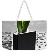 Tulip In A Book Weekender Tote Bag