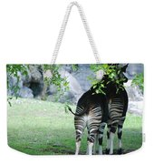 Two Stripes Weekender Tote Bag