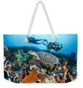 Underwater Photography Weekender Tote Bag