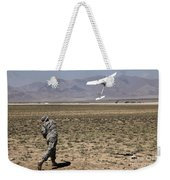 U.s. Army Soldier Launches An Rq-11 Weekender Tote Bag