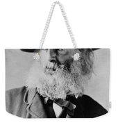 Walt Whitman, American Poet Weekender Tote Bag
