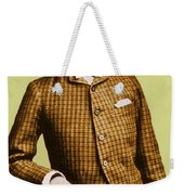 W.e.b. Du Bois, Civil Rights Activist Weekender Tote Bag by Photo Researchers