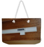 White Pipe Weekender Tote Bag