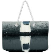 Woman With Suitcase Weekender Tote Bag by Joana Kruse