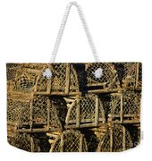 Wooden Lobster Traps Weekender Tote Bag