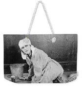 Silent Film Still: Woman Weekender Tote Bag