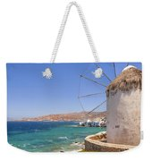 Mykonos Weekender Tote Bag