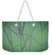 Water Reed Digital Art Weekender Tote Bag