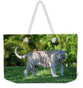 35- White Bengal Tiger Weekender Tote Bag