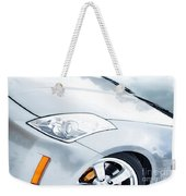 350z Car Front Close-up  Weekender Tote Bag