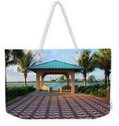 36- Palm Beach Inlet Weekender Tote Bag