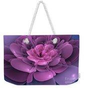 3d Flower Weekender Tote Bag
