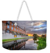 3m Building Sunrise Weekender Tote Bag