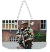 A Paratrooper Of The Belgian Army Weekender Tote Bag