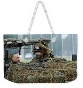 A Recce Or Scout Team Of The Belgian Weekender Tote Bag