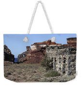 Abandoned Manganese Mine At Cape Vani Weekender Tote Bag