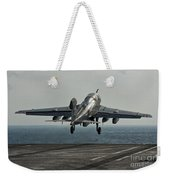 An Ea-6b Prowler Launches Weekender Tote Bag