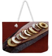 Apple Chips Weekender Tote Bag