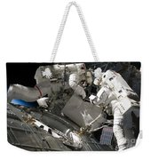 Astronauts Participate Weekender Tote Bag