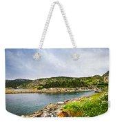 Atlantic Coast In Newfoundland Weekender Tote Bag by Elena Elisseeva