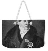 August Von Schlegel Weekender Tote Bag