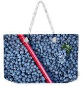 Blueberry Harvest Weekender Tote Bag