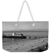 Bournemouth Pier And Beach Weekender Tote Bag