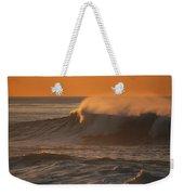 Breaking Surf At Sunset In La Jolla Weekender Tote Bag