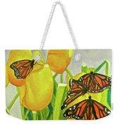 4 Butterflies Weekender Tote Bag