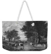 Cattle, 19th Century Weekender Tote Bag