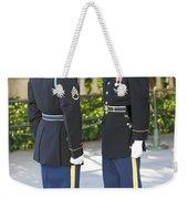 Changing Of Guard At Arlington National Weekender Tote Bag