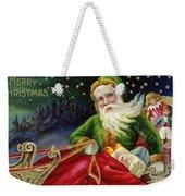 Christmas Card Weekender Tote Bag by American School