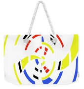4 Colors Abstract Weekender Tote Bag