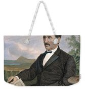 David Livingstone Weekender Tote Bag