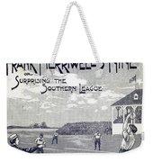 Dime Novel, 1897 Weekender Tote Bag