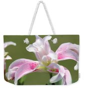 Double Oriental Lily Named Magic Star Weekender Tote Bag