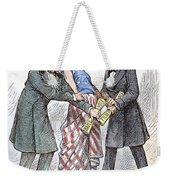 Election Cartoon, 1876 Weekender Tote Bag