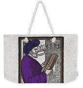 Euclid, Ancient Greek Mathematician Weekender Tote Bag