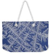 Frost On A Window Weekender Tote Bag