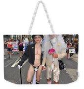 Gay Pride Couples Nyc 2011 Weekender Tote Bag